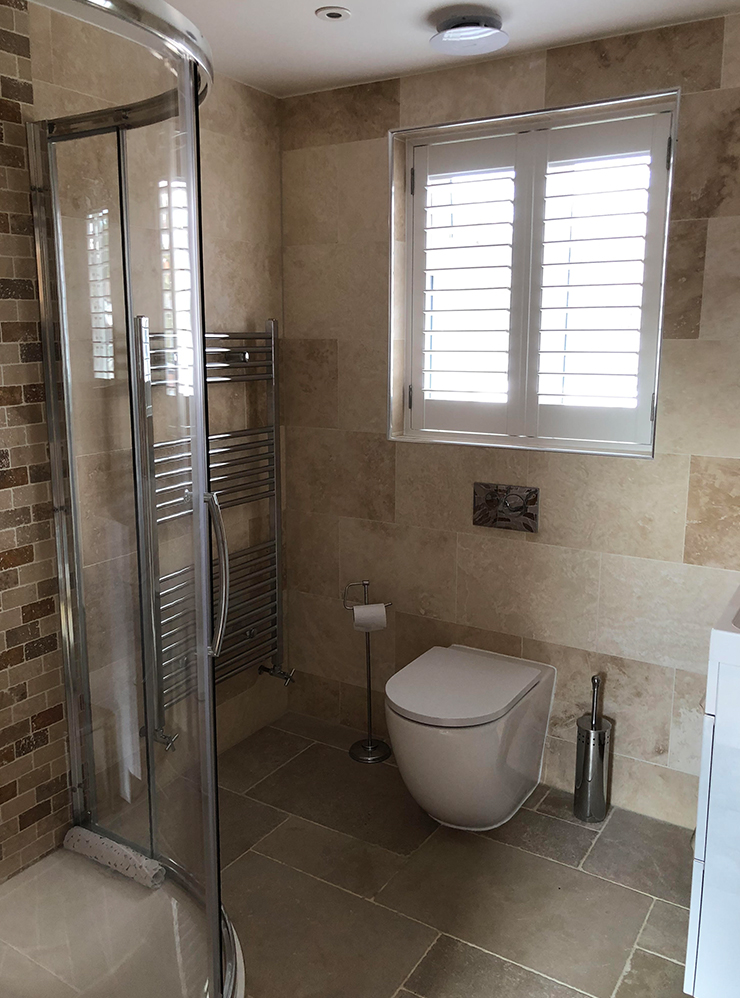 fully fitted bathroom loft conversion bromley
